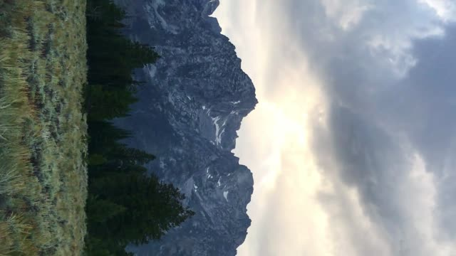 grand teton national park view - grand teton stock videos & royalty-free footage