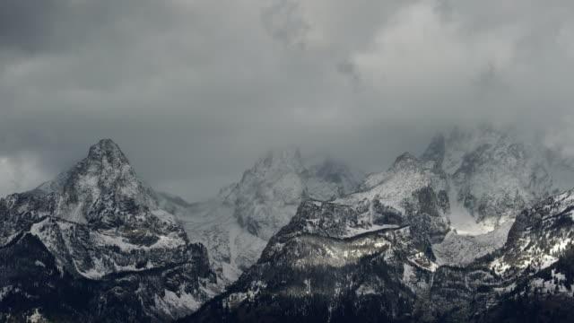 grand teton national park, wyoming, usa, north america, america - grand teton stock-videos und b-roll-filmmaterial