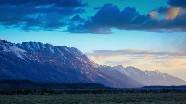 grand teton national park, wyoming - grand teton stock videos & royalty-free footage