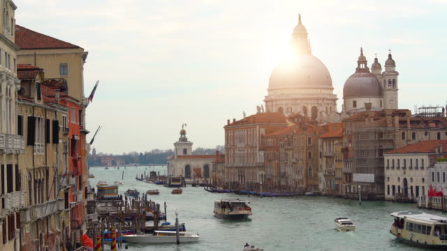 grande canale in venice, time lapse - grande stock videos and b-roll footage