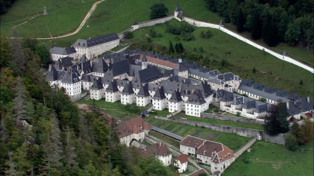 Grande Chartreuse  - Aerial View - Rhône-Alpes, Isère, Arrondissement de Grenoble, France