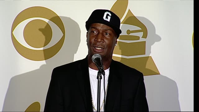 grandmaster flash on his grammy nomination on the honor of hiphop getting respect from the grammys on embracing technology with turntables on the... - music style stock videos and b-roll footage