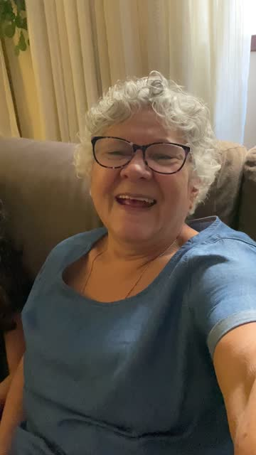 grandmother and granddaughter on a video chat at home - pov of mobile camera - webcam stock videos & royalty-free footage