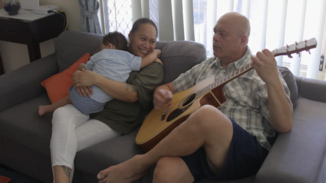 grandparent love - pacific islanders stock videos & royalty-free footage