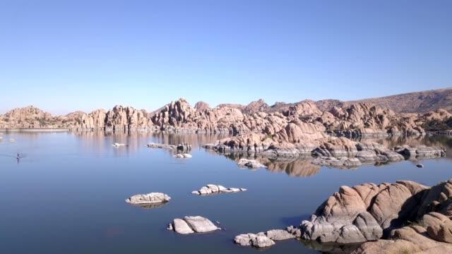 granite dells rocks in prescott arizona - prescott arizona stock videos & royalty-free footage