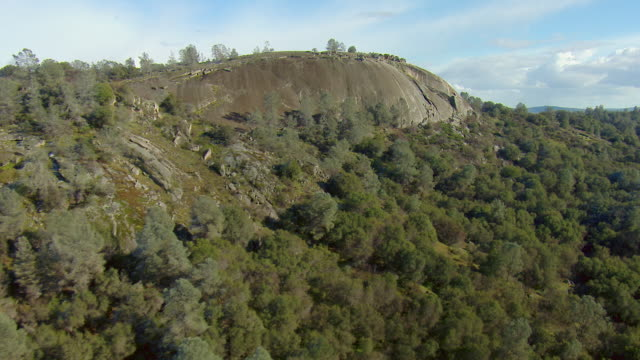 vidéos et rushes de granite dome in coastal range ca - hémisphère nord