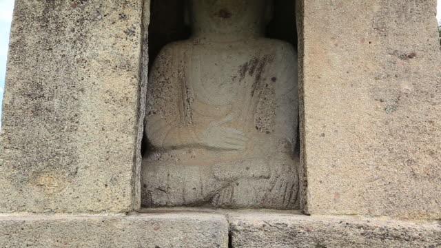 Granite Stone Buddha (Korea Treasure 797) in Unjusa Temple