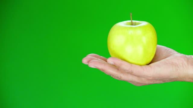 hd: granny smith apple - apple fruit stock videos & royalty-free footage