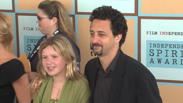 grant heslov at the the 21st annual ifp independent spirit awards in santa monica california on march 4 2006 - ifp independent spirit awards stock videos and b-roll footage