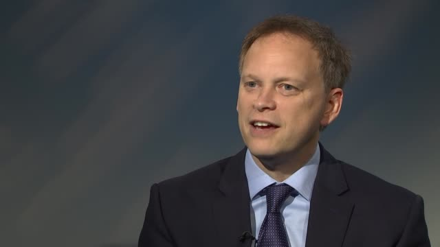 grant shapps interview on thomas cook collapse and brexit england london westminster int grant shapps interview sot on repatriation of thomas cook... - repatriation stock videos & royalty-free footage