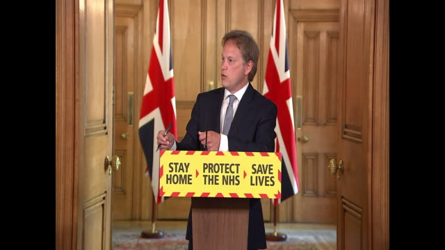 grant shapps saying now that the coronavirus r number is starting to get under control it makes sense to look at our borders - serious stock videos & royalty-free footage