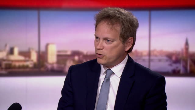 grant shapps saying the government hopes to get the whole of the uk to download the coronavirus tracing app - stream stock videos & royalty-free footage