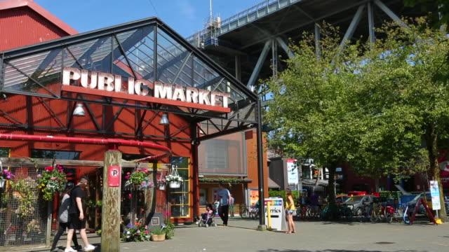 granville island public market - カナダ バンクーバー点の映像素材/bロール