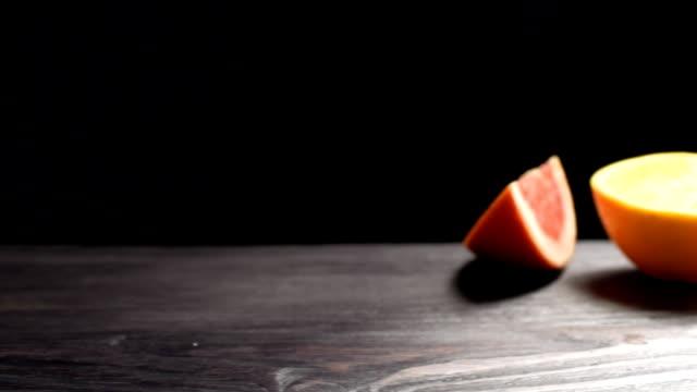 vídeos y material grabado en eventos de stock de toronja y naranja  - pistilo