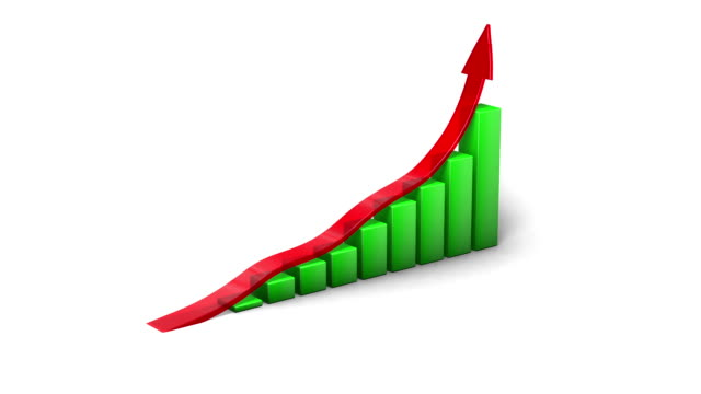 3d graph - success - business report stock videos & royalty-free footage