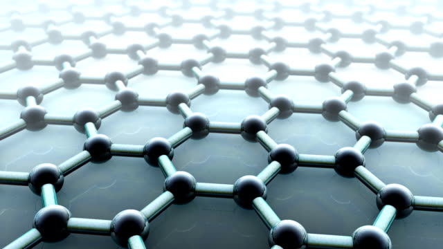 graphene layer - nanotecnologia video stock e b–roll