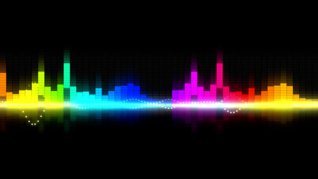 graphic equalizer - equaliser stock videos & royalty-free footage