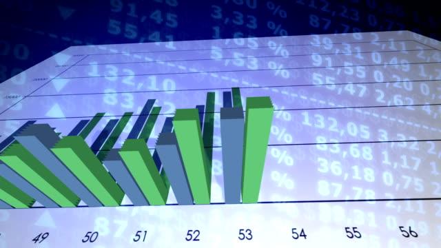 vídeos de stock, filmes e b-roll de gráfico de crescimento econômico - produto interno bruto