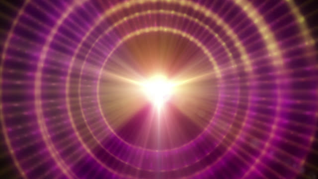 a graphic pulsar star radiating light (loop). - pulsating energy stock videos and b-roll footage