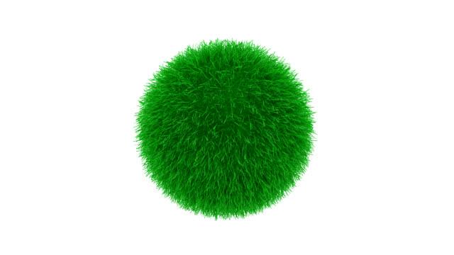 gras kugel - golfplatz green stock-videos und b-roll-filmmaterial
