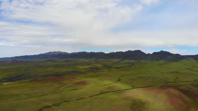 vidéos et rushes de grassland / mongolia - mongolie indépendante