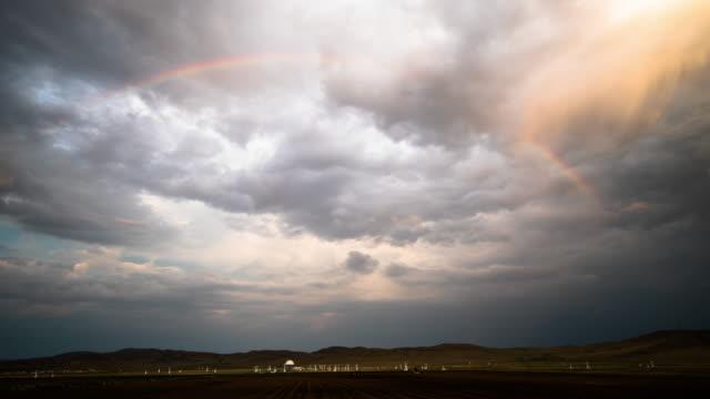 grassland sunset - spectrum stock videos and b-roll footage