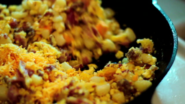 grated cheese - cast iron stock videos and b-roll footage
