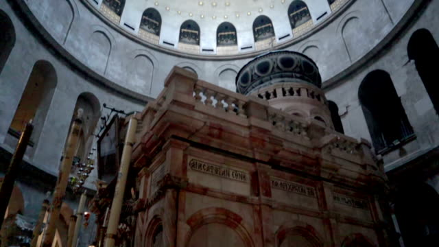 stockvideo's en b-roll-footage met een graf, jezus christus, jerusalem, israël - voorraad video - oost jeruzalem