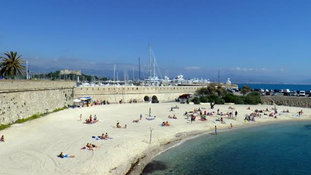 Gravette Beach - Antibes, France