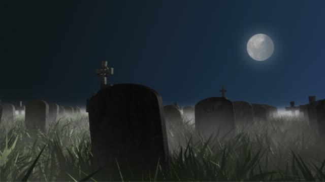 Grusel und dolly in einem Grab