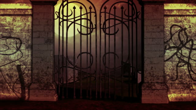 vidéos et rushes de cimetière haute définition - portail