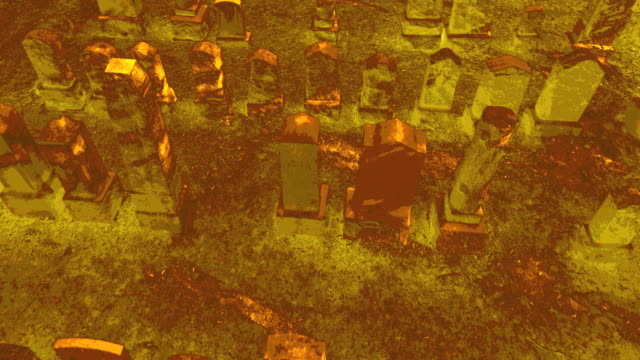 Graveyard special effects aerial