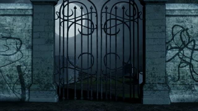 vidéos et rushes de cimetière - portail