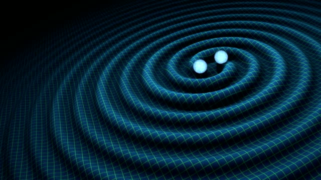 vídeos de stock, filmes e b-roll de gravitational waves - física