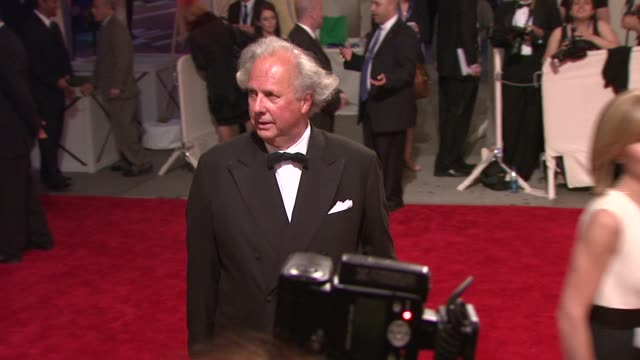graydon carter at the 'american woman fashioning a national identity' met gala arrivals at new york ny - graydon carter stock videos and b-roll footage