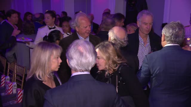 graydon carter john mcenroe jimmy buffet and les moonves at the natural resources defense council presents nrdc's night of comedy benefit 2016 at 583... - graydon carter stock videos and b-roll footage