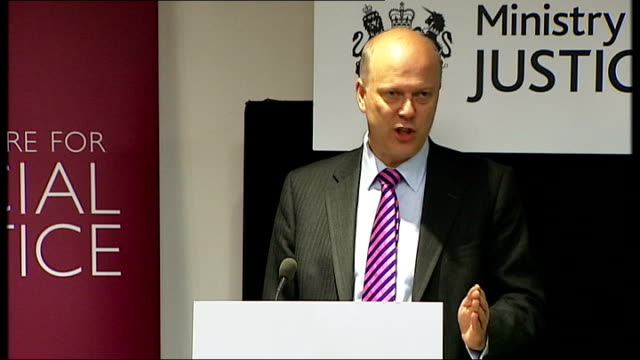 grayling speech on reforms to the criminal justice system often it will be the former offender gone straight who is best placed to steer the young... - probation stock videos and b-roll footage