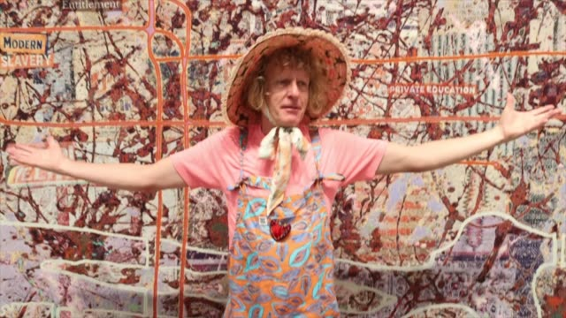 """GBR: """"Grayson Perry: The Most Specialest Relationship"""" Exhibition - Photocall"""