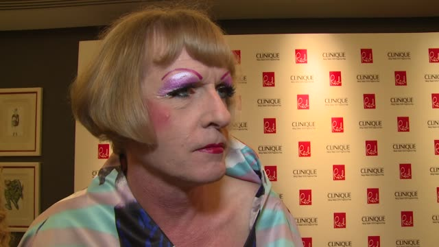 grayson perry on women, succeeding and icloud hacking at red women of the year awards 2014 on 3rd september 2014 in london, england. - cloud computing stock videos & royalty-free footage
