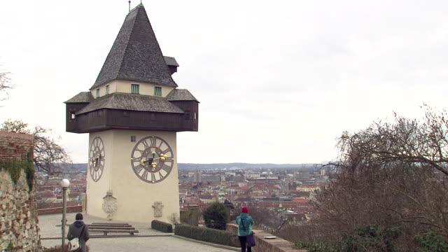 Graz - Clock tower in Graz 03