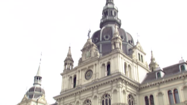 graz - town hall in graz - traditionally austrian stock videos & royalty-free footage