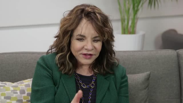 Grease star Stockard Channing has said she has found it a relief to be working on a play in London because it is giving her a break from the...