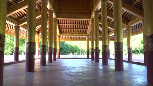 Großen Audienzsaal, der Königspalast Mandalay in Myanmar