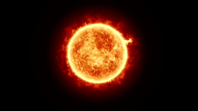 great ball of fire - sun - sun stock videos & royalty-free footage