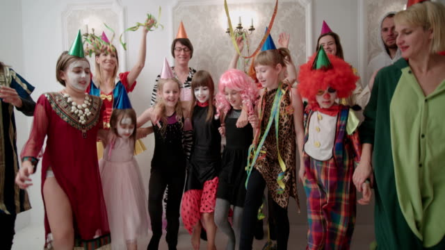 A great birthday party with cancan dancing.