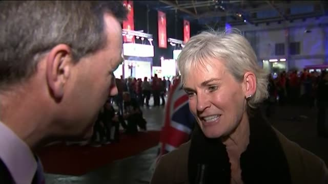 great britain wins davis cup for first time in 80 years; judy murray interview sot - reacts to the win - davis cup stock videos & royalty-free footage