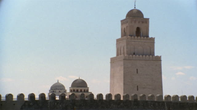 ms, great mosque, kairouan, tunisia - history stock videos & royalty-free footage