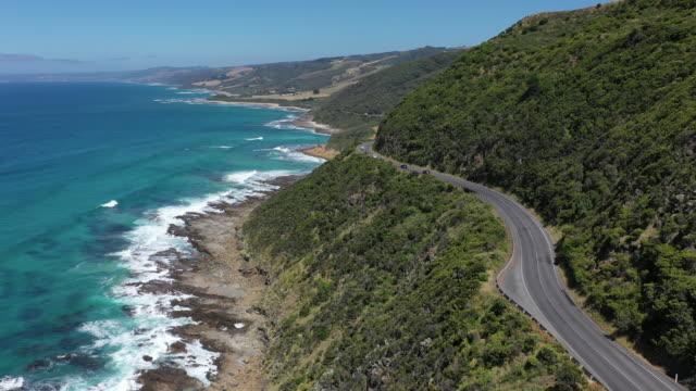 great ocean road / melbourne, victoria, australia - great ocean road stock videos & royalty-free footage