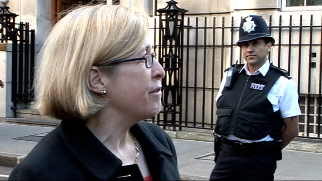 gvs of scene outside hospital following gas explosion dr jane collins speaking to press sot confirms fire in cardiac block at 830am which led to... - cylinder stock videos & royalty-free footage