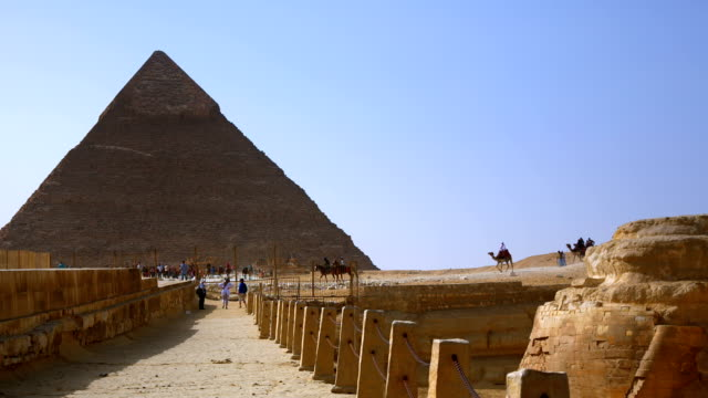 great pyramids of giza cairo egypt - valley of the kings stock videos & royalty-free footage
